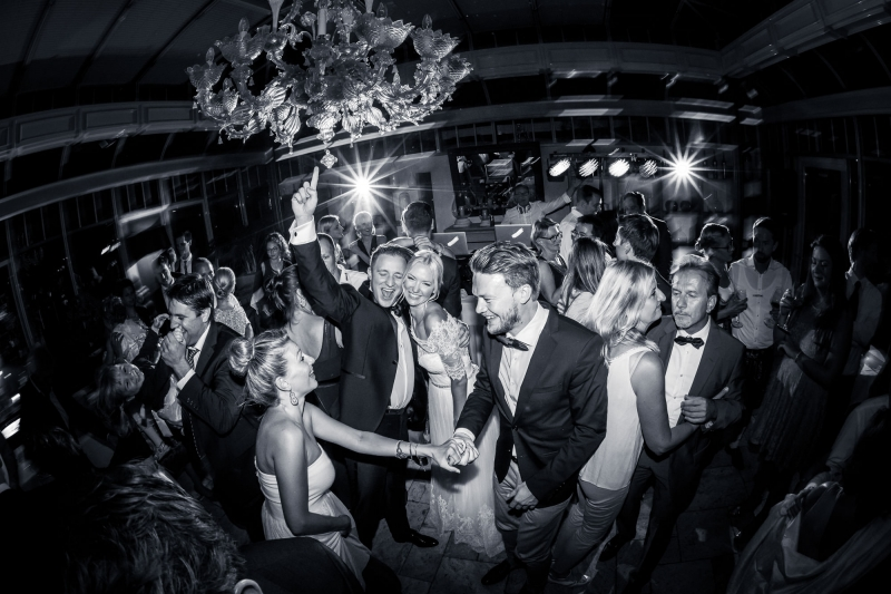 Perfektes Hochzeitsfoto
