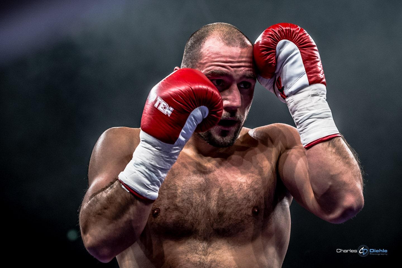 Boxer mit kurzer Verschlußzeit