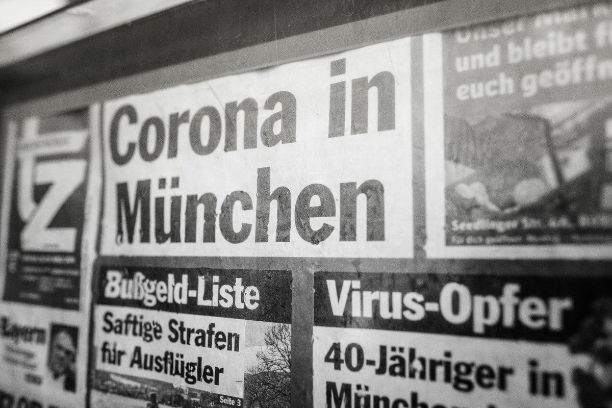 Corona Virus in München