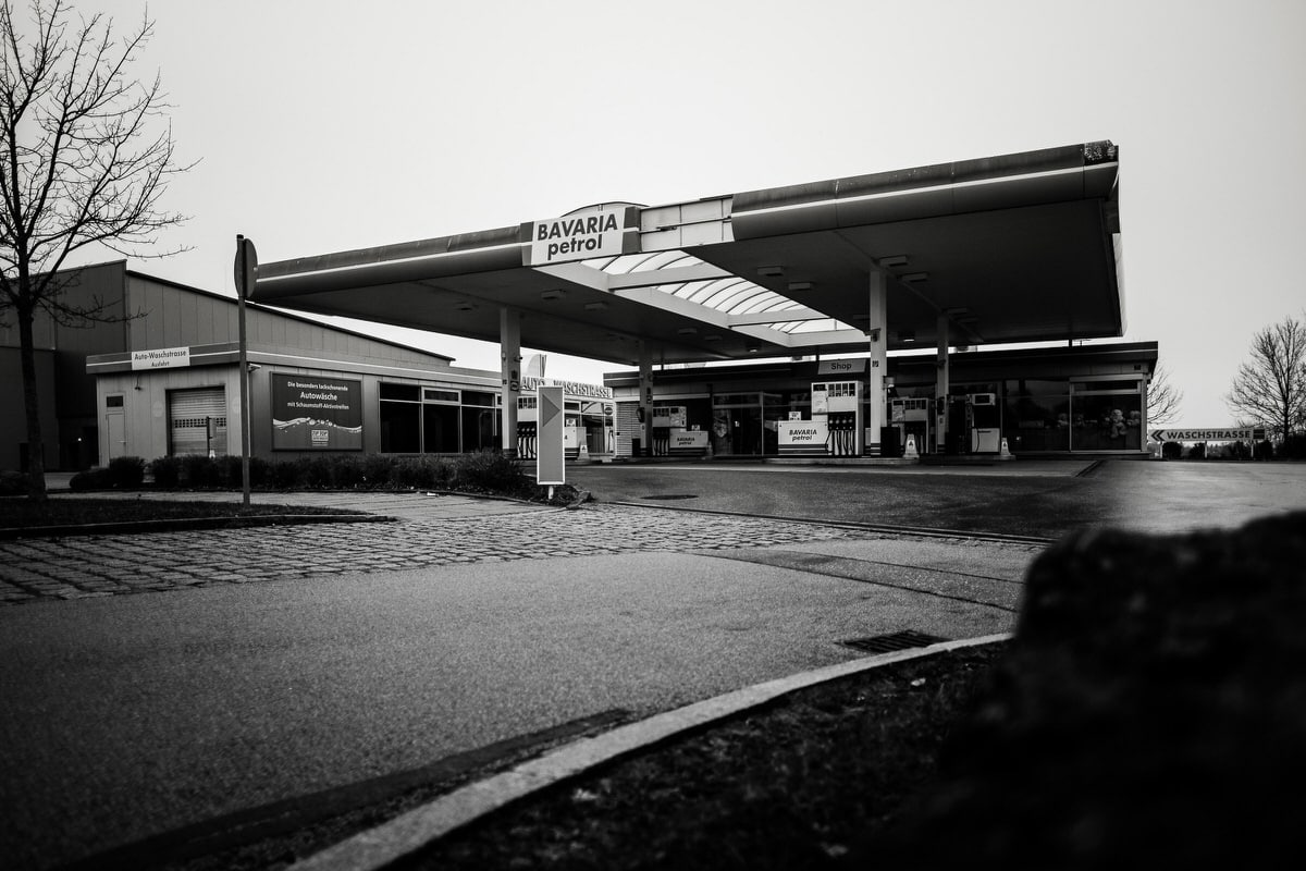 Tankstelle in Taufkirchen