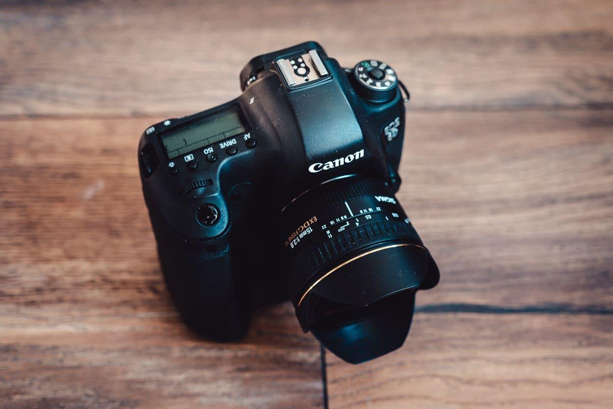 Spiegelreflexkamera Canon 5D (DSLR)