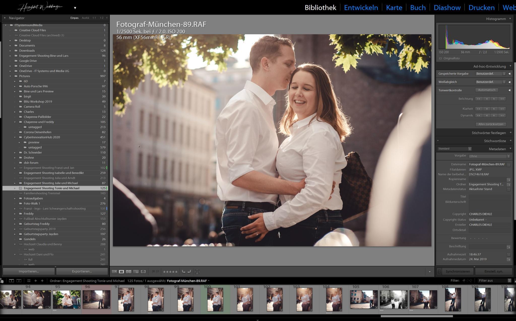 Adobe Lightroom Bildbearbeitung