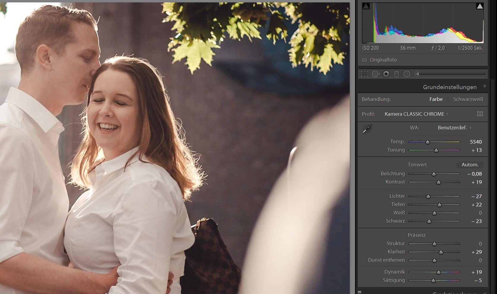 Workflow mit Adobe Lightroom